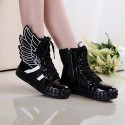 Black Wings Shoes