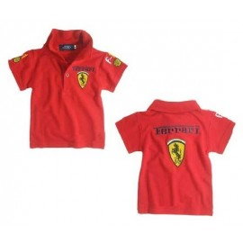 Ferrari Shirt Polo Red