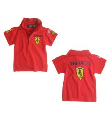 Ferari Shirt Polo Red