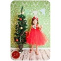 B2W2 White Flo Red Tutu Dress