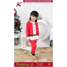 GW Christmas Santa Clothes Girl