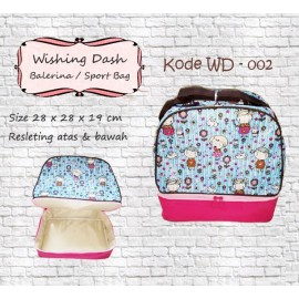 Wishing Dash Ballerina/Sport Bag WD 002