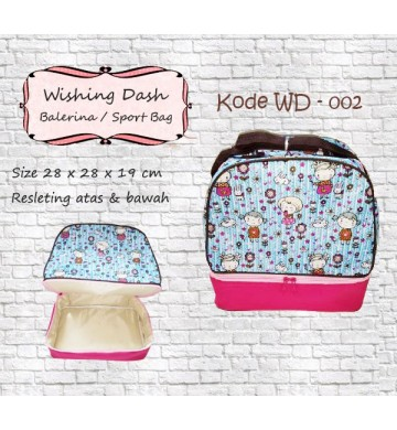 Wishing Dash Ballerina/Sport Bag