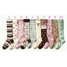 Shabby Chic High Sock