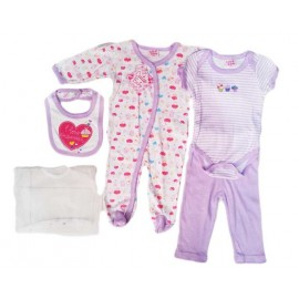 Stelan Cutie Baby Cupcake Purple 5in1