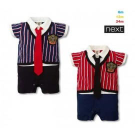 Romper NEXT Stripe with Tie