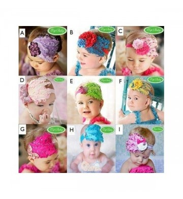 Feather Baby Flower Headband