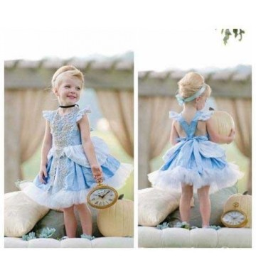 Cinderella Soft Blue Cosplay Dress
