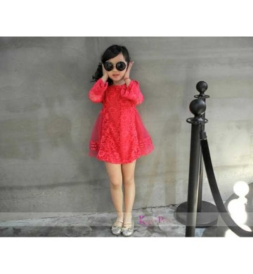 KoreaPink Pinky Rose Dress