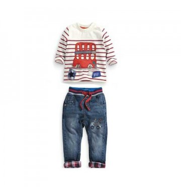 NEXT Stripe Bus Set Jeans