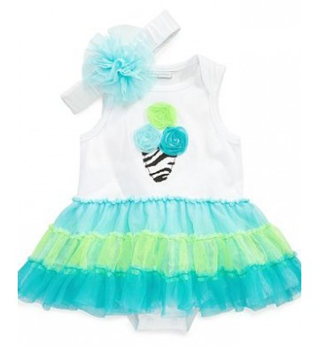 Dress Tutu First Impressions Icecream+Headband