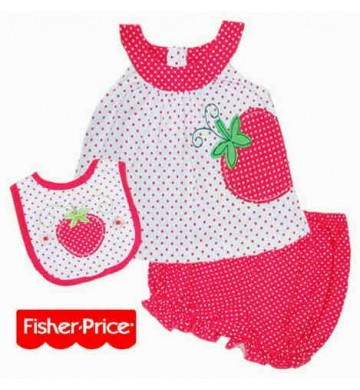 FP Strawberry Set 3in1