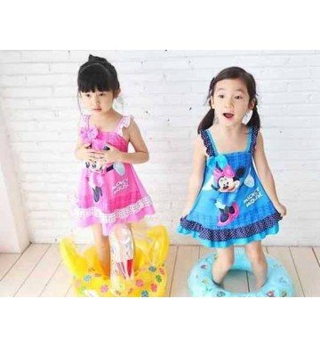 Swimdress Minnie Pink Blue