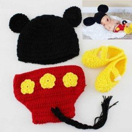 Crochet Baby Mickey with Shoes