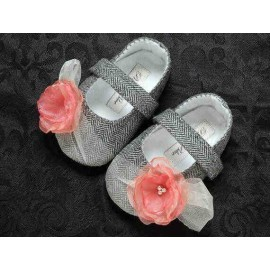 Prewalker Grey Peach Rose