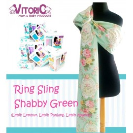 Ring Sling Vitorio Shabby Green