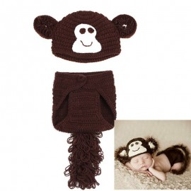 Baby Newborn Crochet Monkey