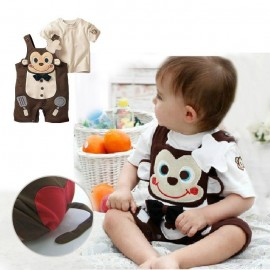 Romper Monkey Chef Belle Maison