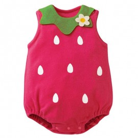 Romper Strawberry