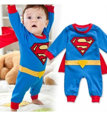 Romper Superman Long