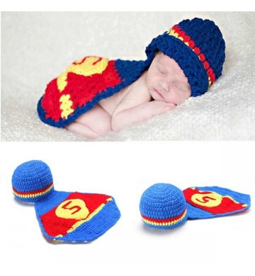 Baby Crochet Superman