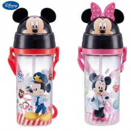 3D Drinking Bottle Mickey Minnie Original 4155/4156 580ml