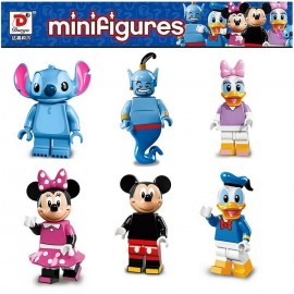 Building Block Minifigures Disney 6 in 1 892A-F