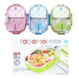 Lunch Box Tedemei Stainless Steel 6527