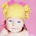 Yellow Spiral Hat