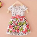 Butterfly Red Polka Dress