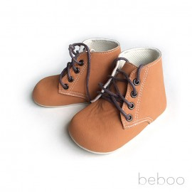 Prewalker Beboo Boot Brown Suede - Taylor Tan