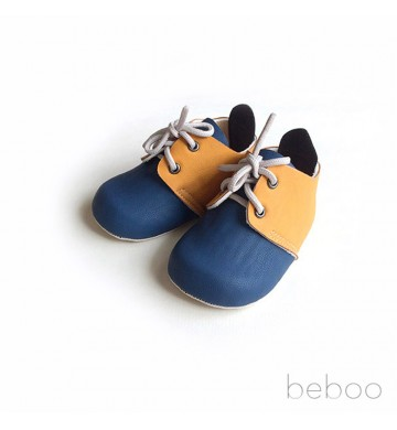 Prewalker Yellow Navy - Ben Navy