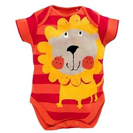Romper Lion Orange Stripe