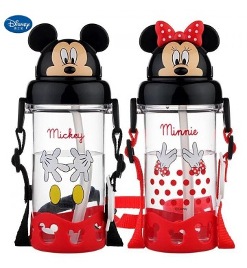 3D Drinking Bottle Mickey Minnie Original