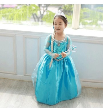 Dress Elsa Frozen Wing