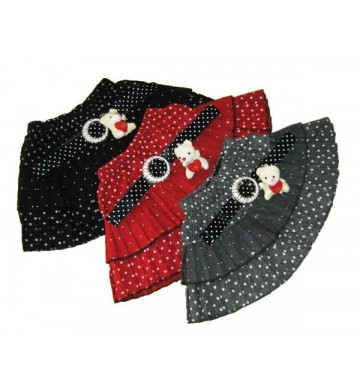 Polkadot Tutu Skirt with Belt