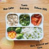 Lunch Box Yooyee Grid Leak Proof 4 Sekat