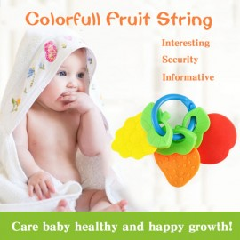 Baby Colorfull Fruit String Teether