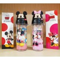 3D Drinking Bottle Mickey Minnie Original 4255 500ml Tanpa Sedotan
