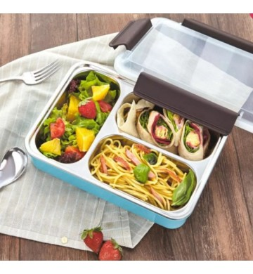 Lunch Box Tedemei Stainless Steel 6545