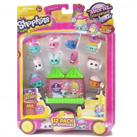 Shopkins Season 8 - World Vacation Asia - Pack of 12