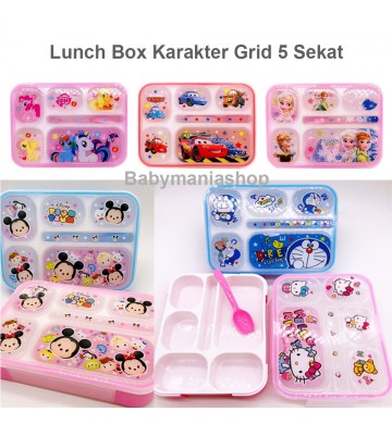 Lunch Box Karakter Grid X-9006