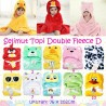 Selimut Topi Double Fleece D