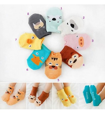 Kaos Kaki Anak Bayi 3D Karakter Animal Baby Socks Cute Import