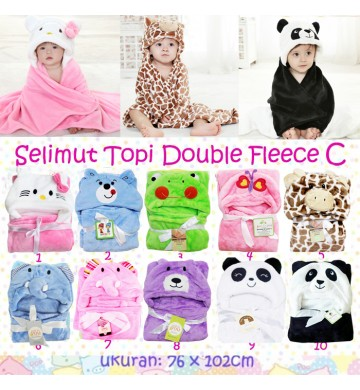 Selimut Topi Double Fleece C
