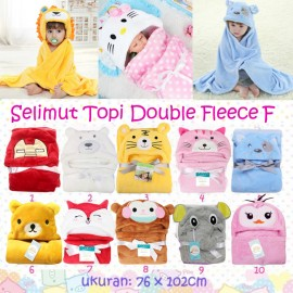 Selimut Topi Double Fleece F
