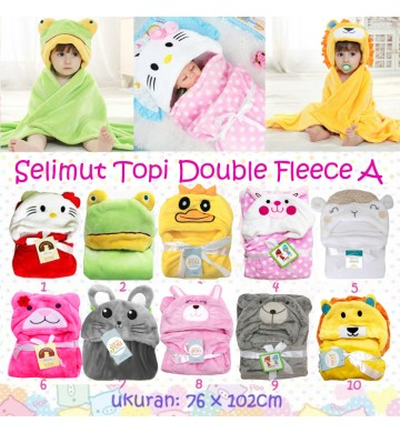 Selimut Topi Double Fleece A