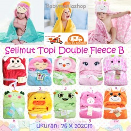 Selimut Topi Double Fleece B