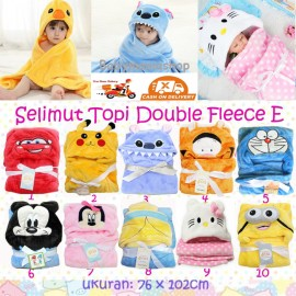 Selimut Topi Double Fleece E
