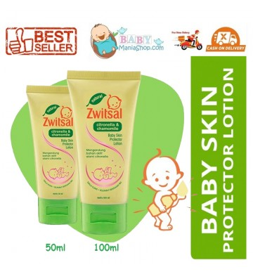 Zwitsal Natural Baby Skin Protector Lotion 50ml 100ml